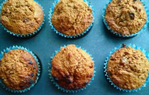 Healthy Wholewheat Muffins
