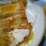 Egg Free Pancakes with Sweet Orange Sauce