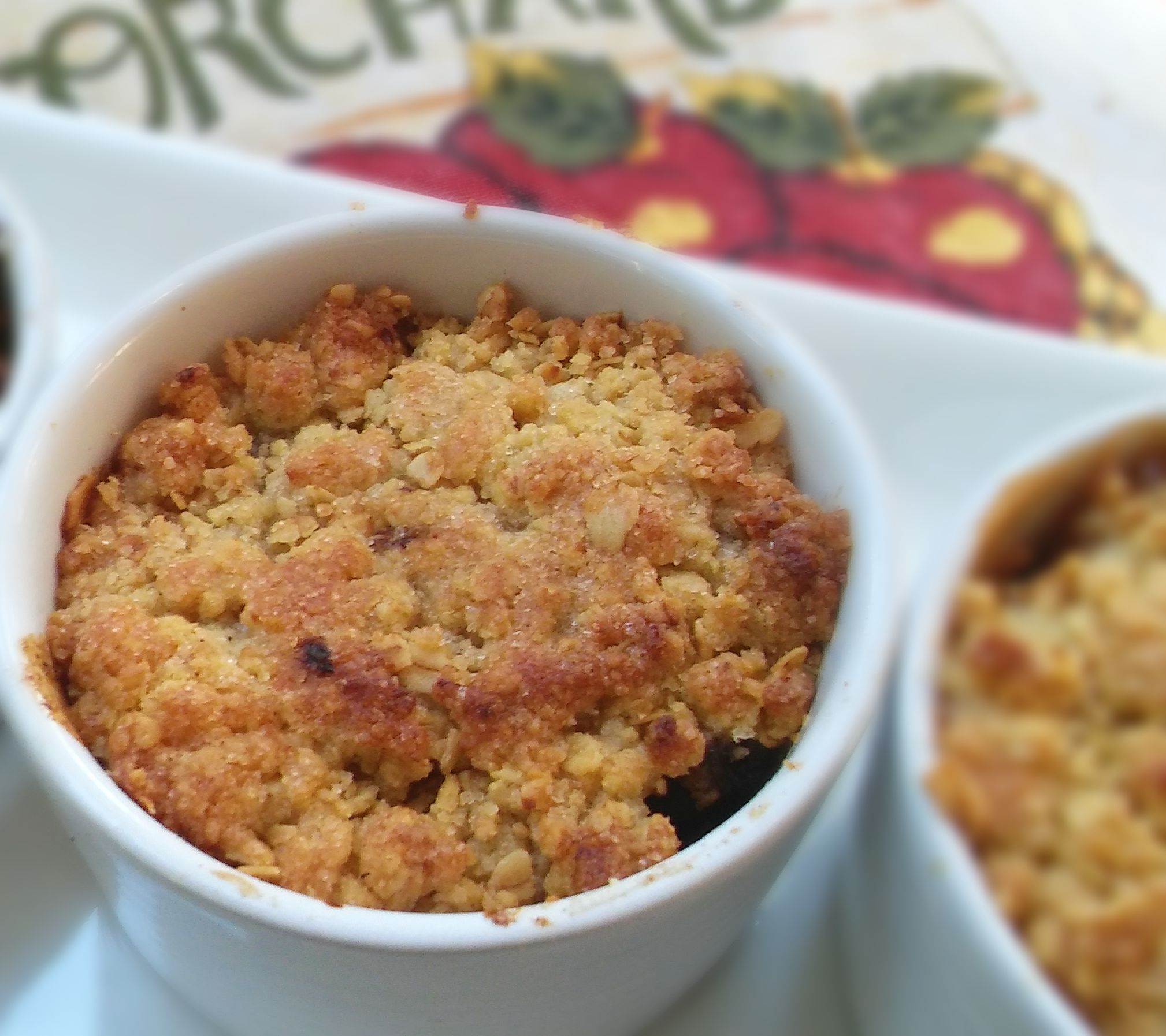 Apple Oat Crunch