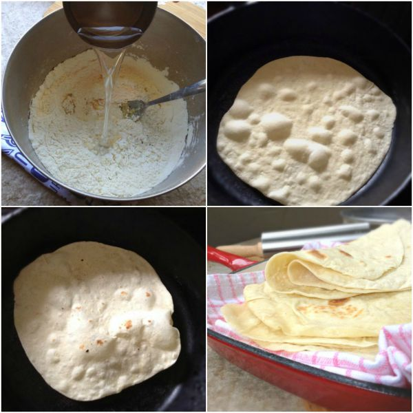 Easy Homemade Flour Tortilla Recipe The Gardening Foodie
