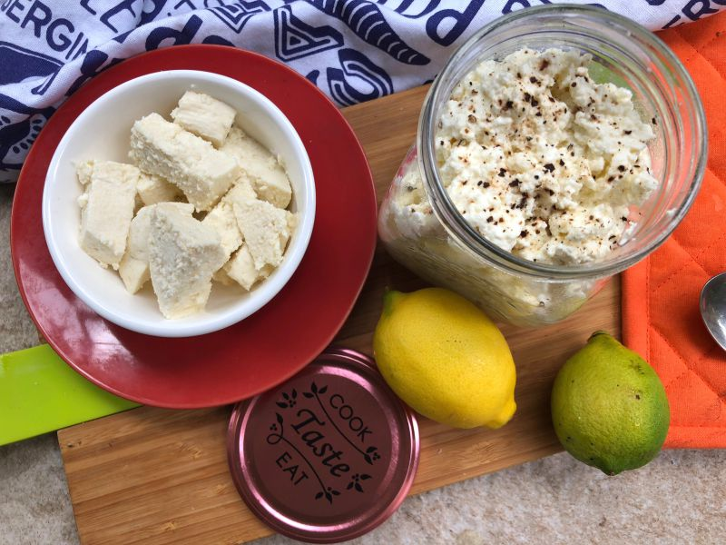 3 Ingredient Ricotta and Paneer Recipe