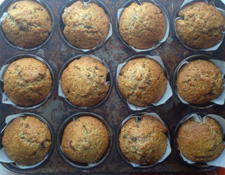 30 Day Healthy Buttermilk Bran Muffins