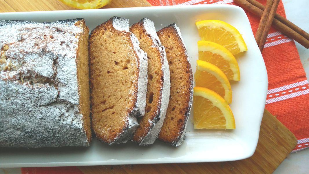Spiced Orange and Honey Loaf Cake