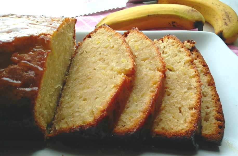 Banana Butterscotch Loaf