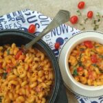 One Pot Tomato and Spinach Pasta