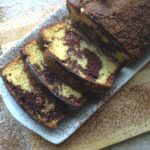 Marbled Vanilla Chocolate Coffee Cake