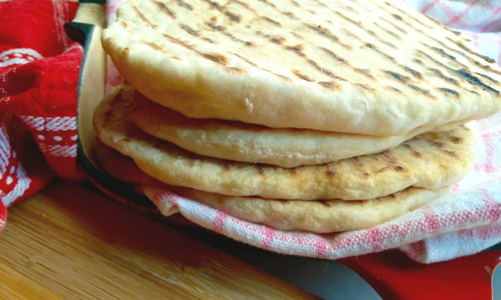 Yeast Free Stove Top Pita Recipe