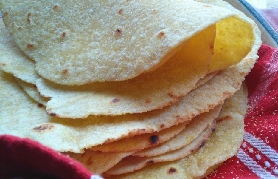 Homemade Corn Tortillas The Gardening Foodie