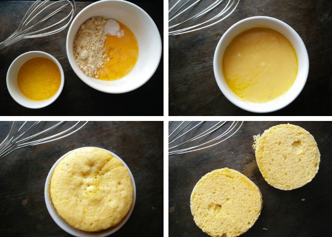 4 Ingredient 90 second English Muffin ⋆ The Gardening Foodie