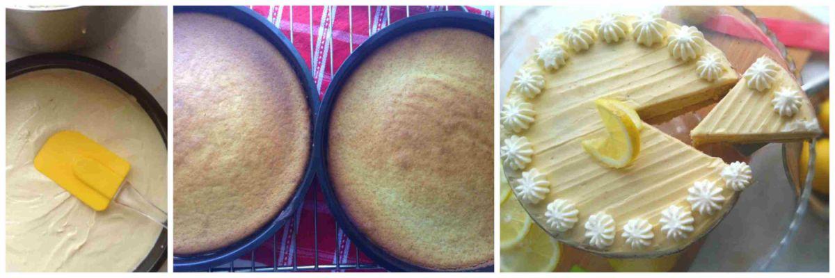 Condensed Milk Lemon Cake