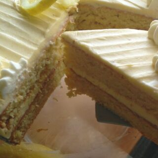 Condensed Milk Lemon Cake