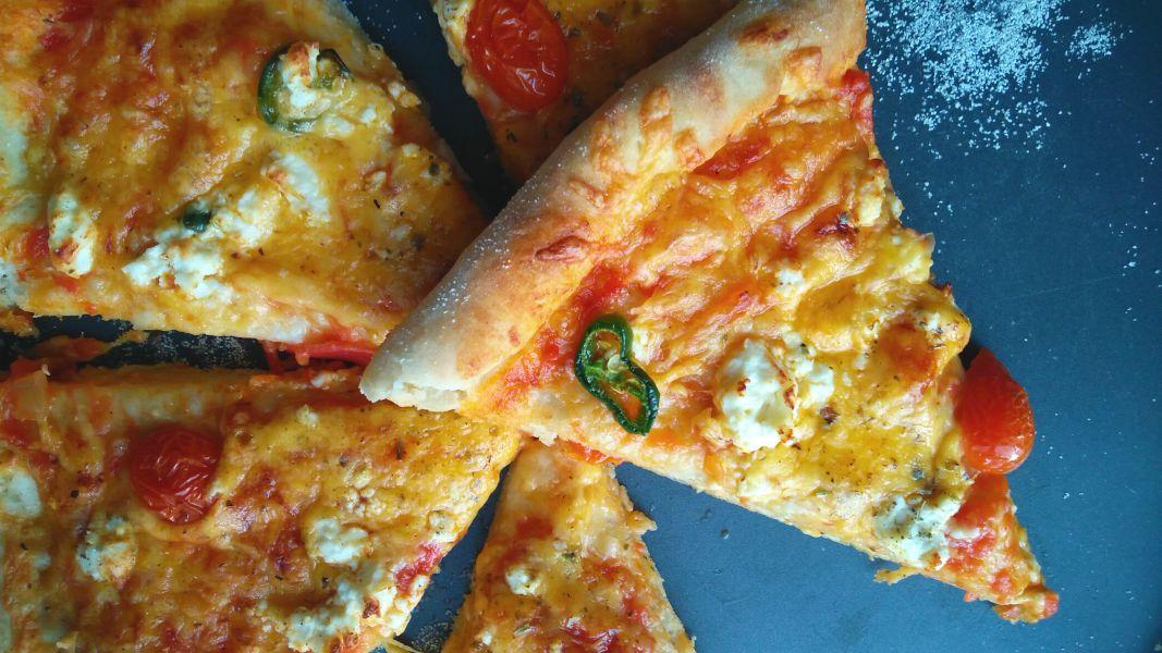 Easy 10 minute Pizza Dough ( No Rise No Knead)