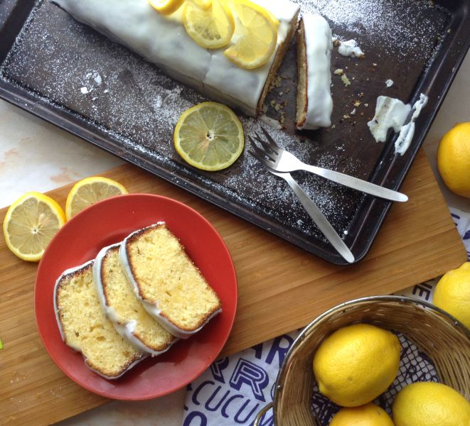 Classic Glazed Lemon Loaf