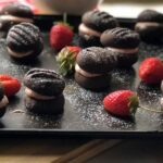 Chocolate Strawberry Sandwich Cookies