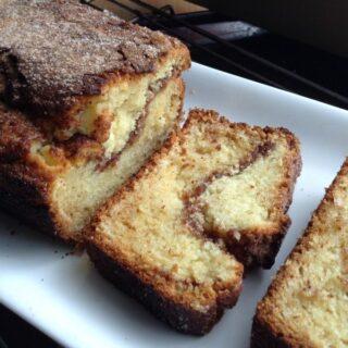 Cinnamon Buttermilk Loaf