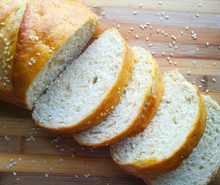 Easy No Knead French Bread The Gardening Foodie