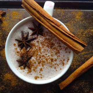 5 minute Spicy Chai Latte