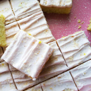 Lemon Coconut Traybake