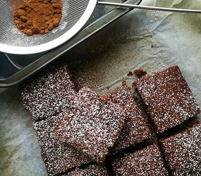 4 ingredient Oreo Brownies