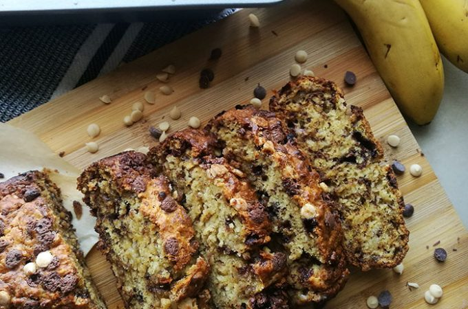 One Bowl Chocolate Chip Banana Loaf