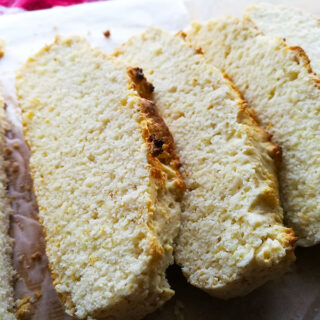 2 ingredient Ice Cream Bread