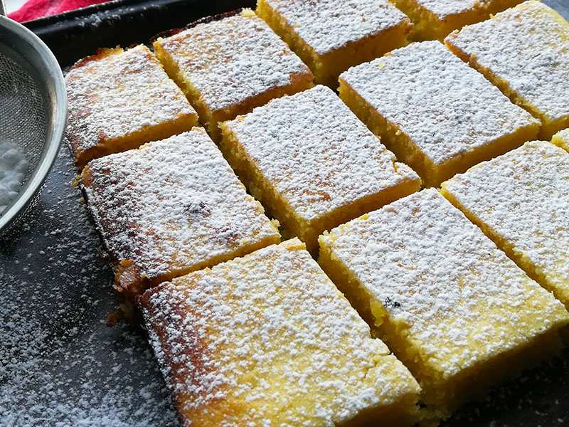 One Bowl Lemon Brownies