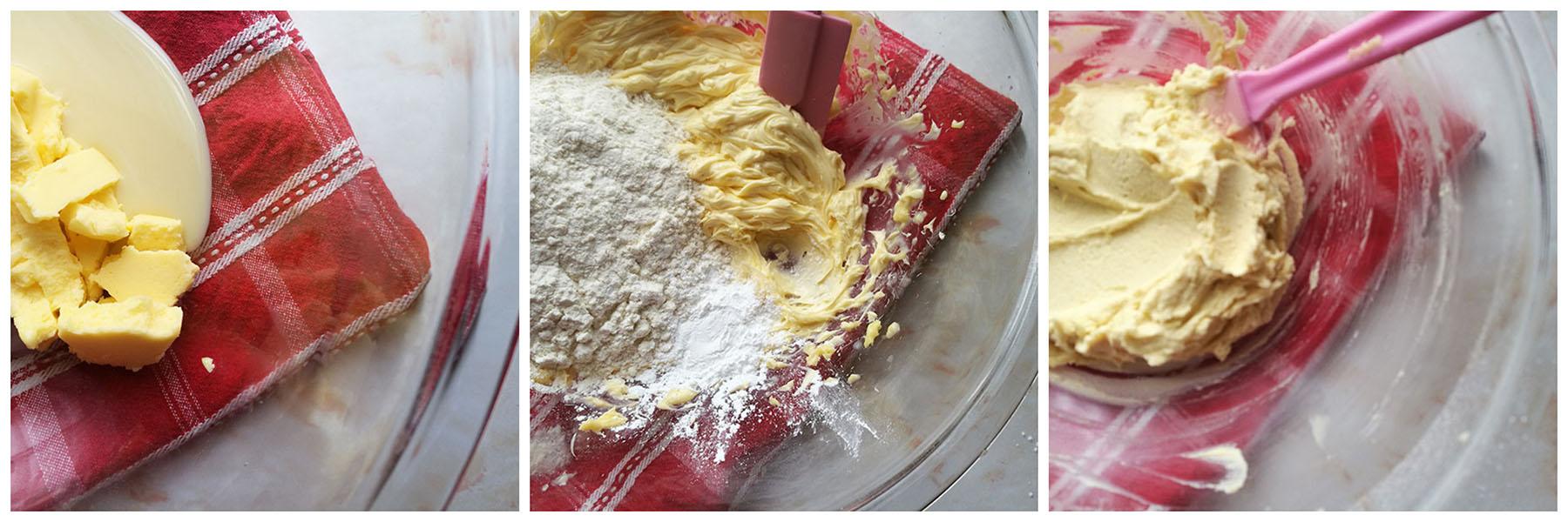Condensed Milk Shortbread Cookies