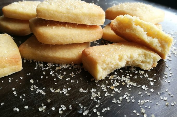 3 ingredient Butter Cookies
