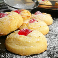 condensed milk shortbread cookies