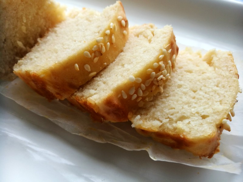 Quick Mayonnaise Bread - (Just 4 ingredients-no yeast)