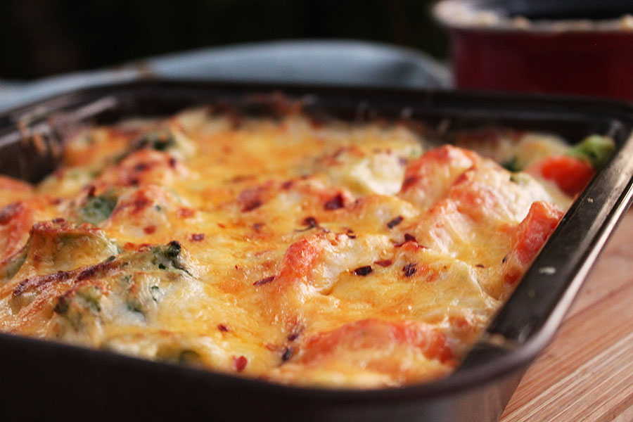 Creamy Vegetable Bake