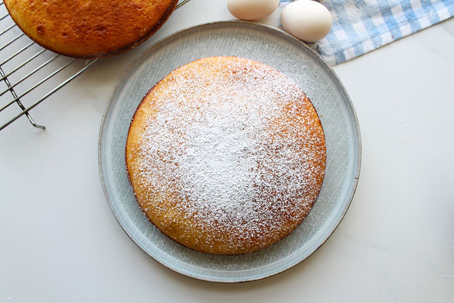Buttermilk Sponge Cake