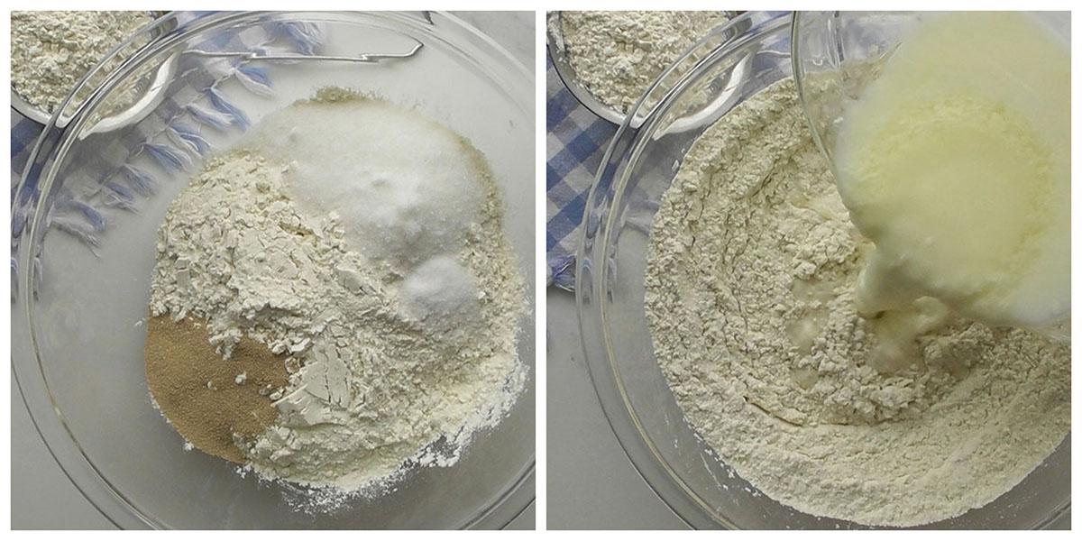 Step 2 : Prepare the dough