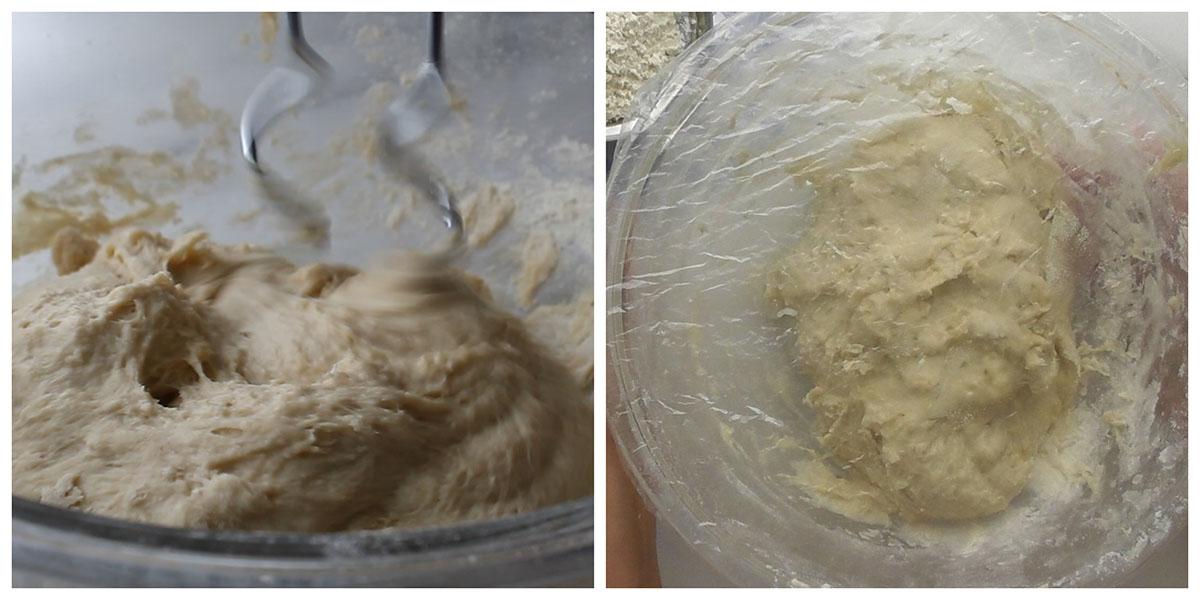 Step 3 : Knead the dough