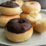 If you're a fan of doughnuts but not the deep frying that goes with it, then these delicious Air fryer doughnuts are for you. They are egg-free and yeast-based and bakes up super soft and fluffy. Dipped in chocolate, glaze or cinnamon they make a great breakfast or treat.