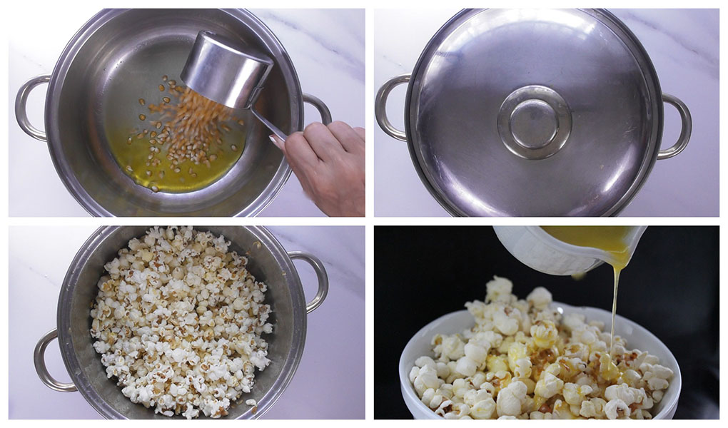 How to make Movie Style Popcorn