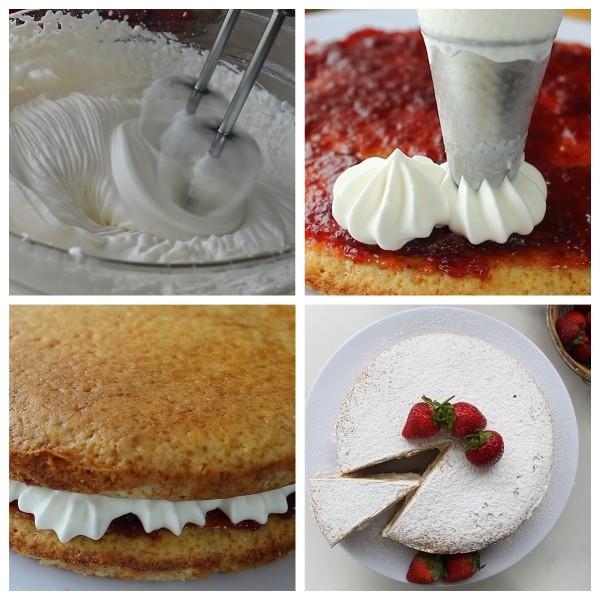 How to make a Victoria Sponge Cake