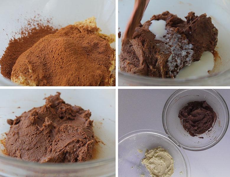 How to make Chocolate Vanilla Danish Butter Cookies